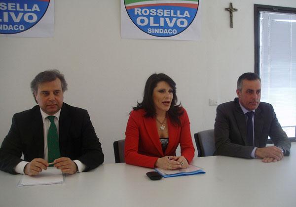 Rossella Olivo scende in campo